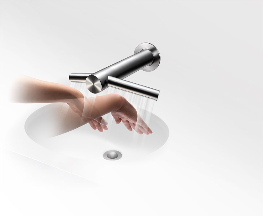 dyson airblade tap ab11 wall